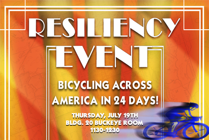 Wellness Council Brown Bag - Bicycling Across America in 24 Days