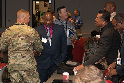 Homecoming event recognizes mission contributions of forward presence associates