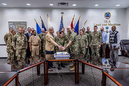 Logisticians celebrate Navy Supply Corps birthday