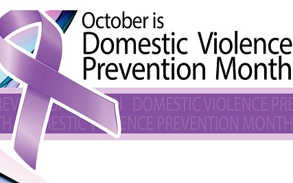 National Domestic Violence Awareness Month is recognized each October.