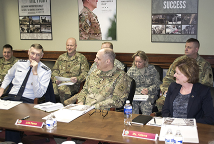 Army, DLA officials discuss way ahead for equipment reductions, sustained readiness