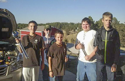"""Boy Scout Troop 444 of Peyton, Colorado, takes the motto """"be prepared"""" very seriously, and its scouts rely on DLA Disposition Services to acquire needed equipment."""