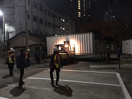 Christmas came early for DLA Disposition Services when six 20-foot containers were turned in to prepare for the Army Corps of Engineers relocation of its Far East District headquarters relocation to Camp Humphreys in Pyeongtaek.