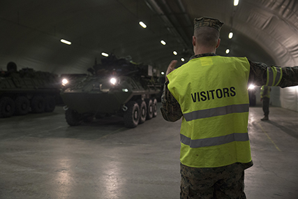 DLA helps divest aging equipment in Scandinavian caves filled with supplies prepositioned for NATO defense.