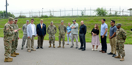 Defense Logistics Agency employees at Gimcheon, South Korea, recently celebrated the official Grand Opening/Ribbon Cutting Ceremony for their new collection point at Camp Humphreys.