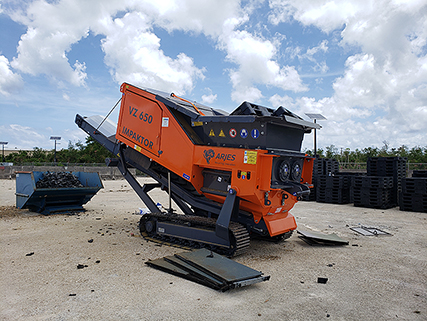 A new VZ 650 Impaktor shredder will allow disposal personnel in Guam to handle more equipment disposition jobs locally. The shredder was recently transported to the site by a Navy customer, saving DLA an estimated $11,000.
