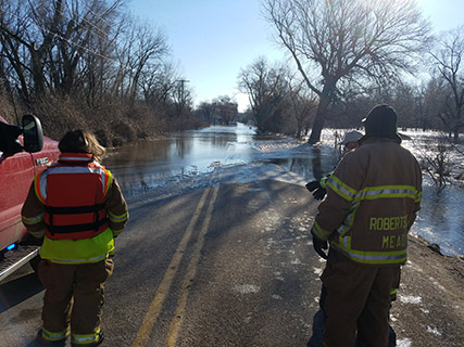 Equipment from DLA Disposition Services helped save lives as Nebraska recently faced its worst flooding of the past 50 years.