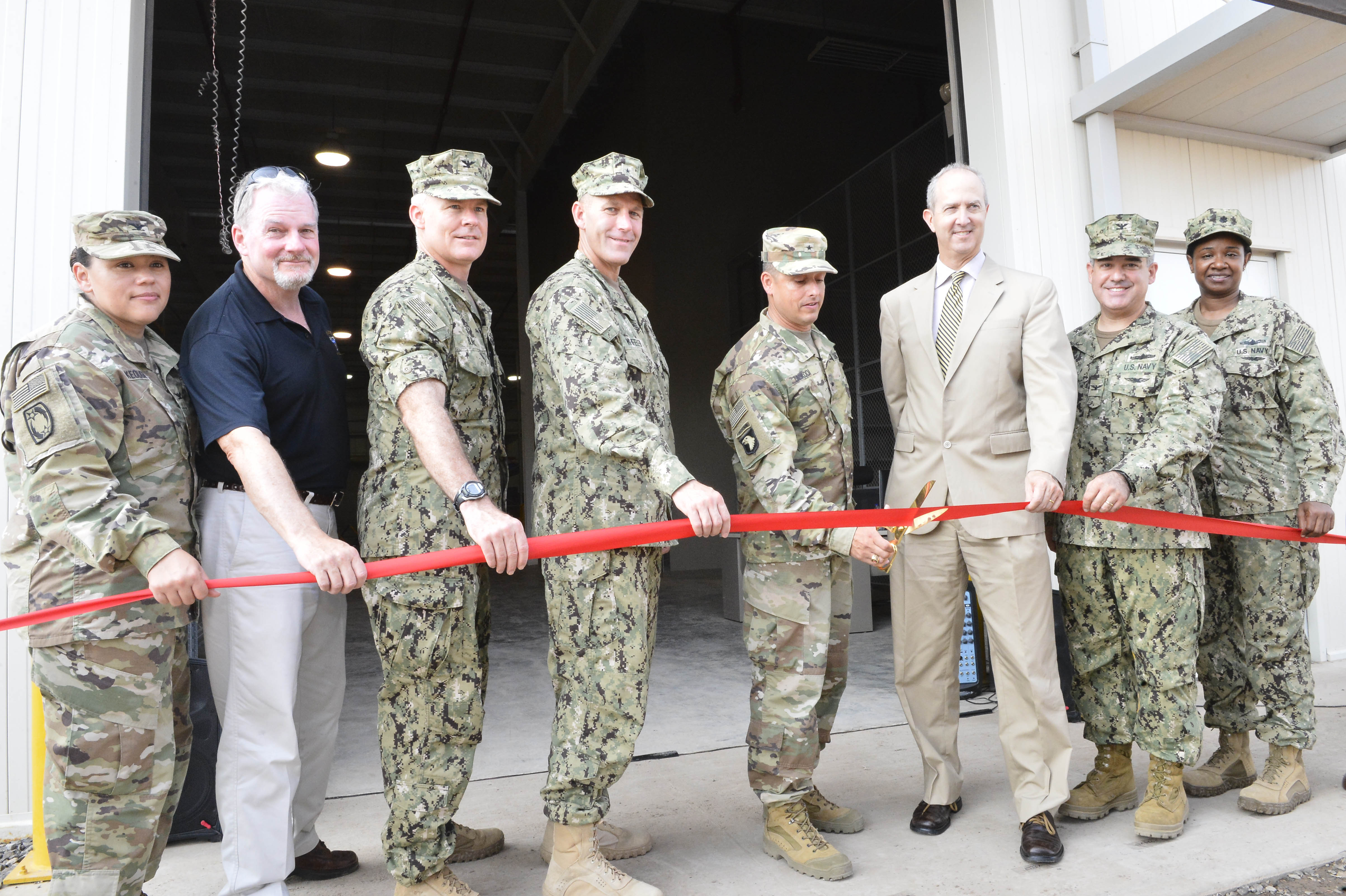 DLA Distribution opens operation in Djibouti, Africa