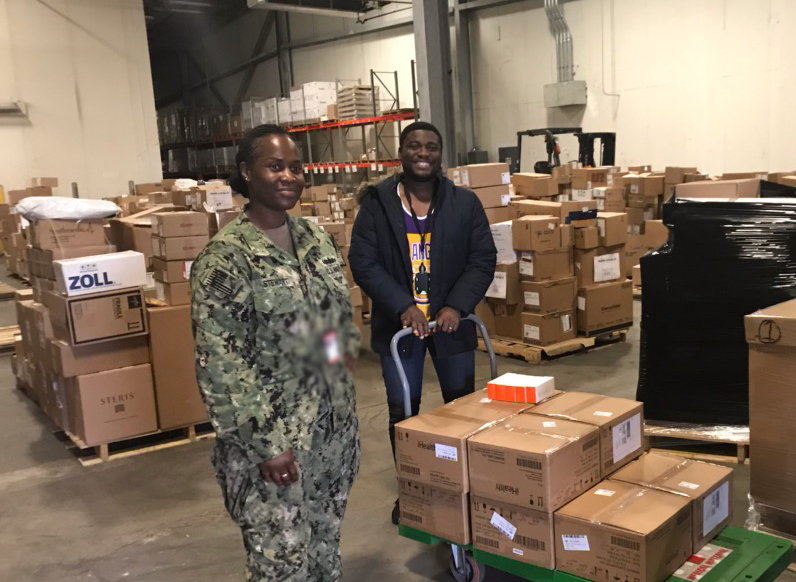 DLA Distribution Norfolk delivers essential medical supplies to COMNAVSUFLANT for Navy
