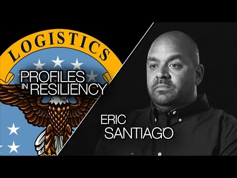 Profiles in Resiliency, Eric Santiago, DLA Distribution Pearl Harbor, Hawaii