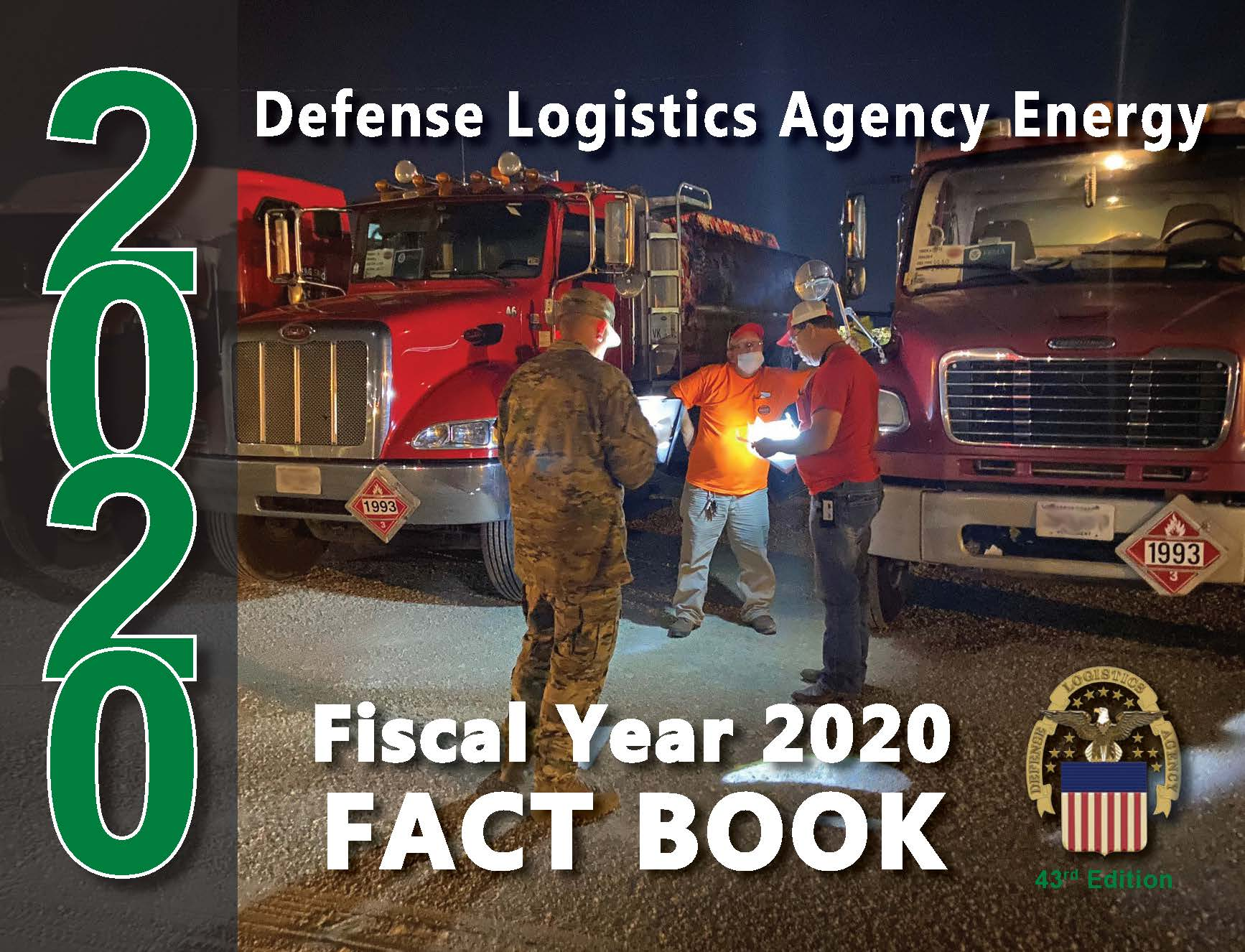 DLA Energy FY20 Fact Book cover