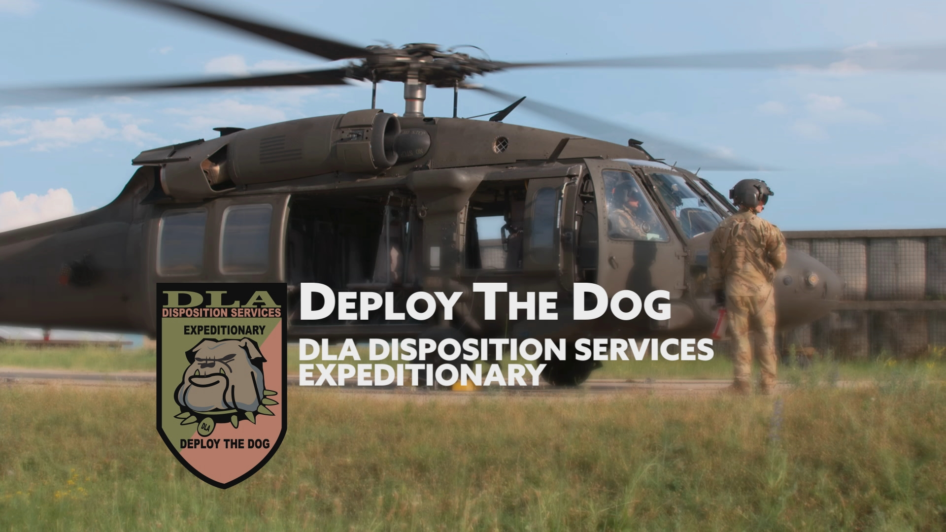 Deploy the Dog: DLA Disposition Services Expeditionary Site Set