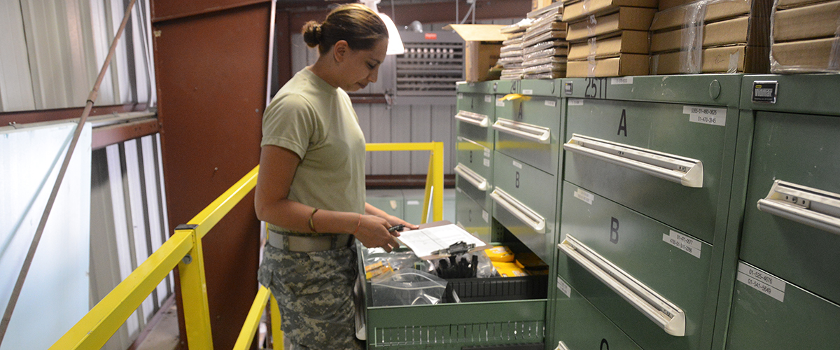 Like how DLA-procured parts are looked over before use, DLA's federal contracting resources are at the ready to assist