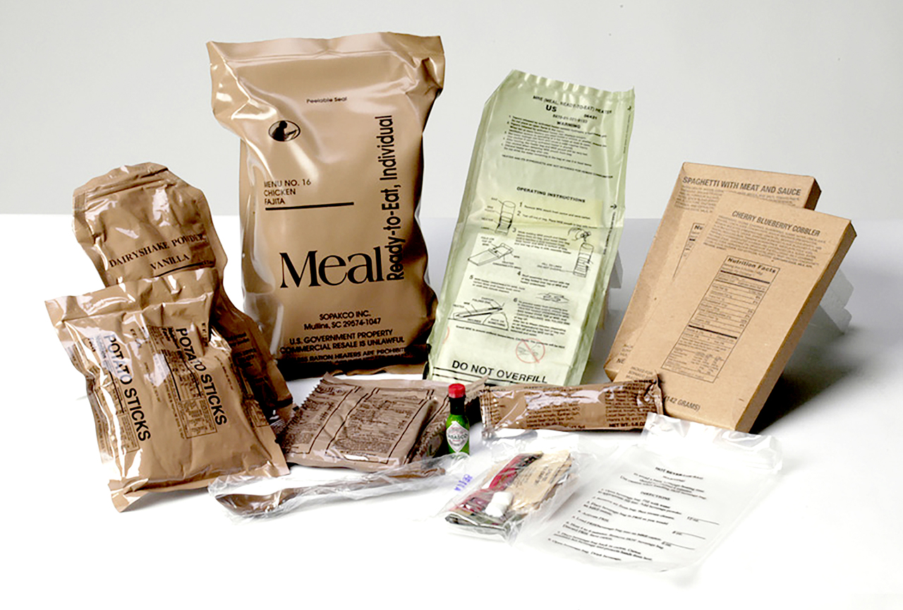 No longer canned spam and candy bars, contemporary MREs are being infused with caffeine, omega-3 fatty acids and the anti-inflammatory curcumin