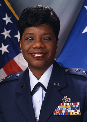Air Force Maj. Gen. Mary L. Saunders