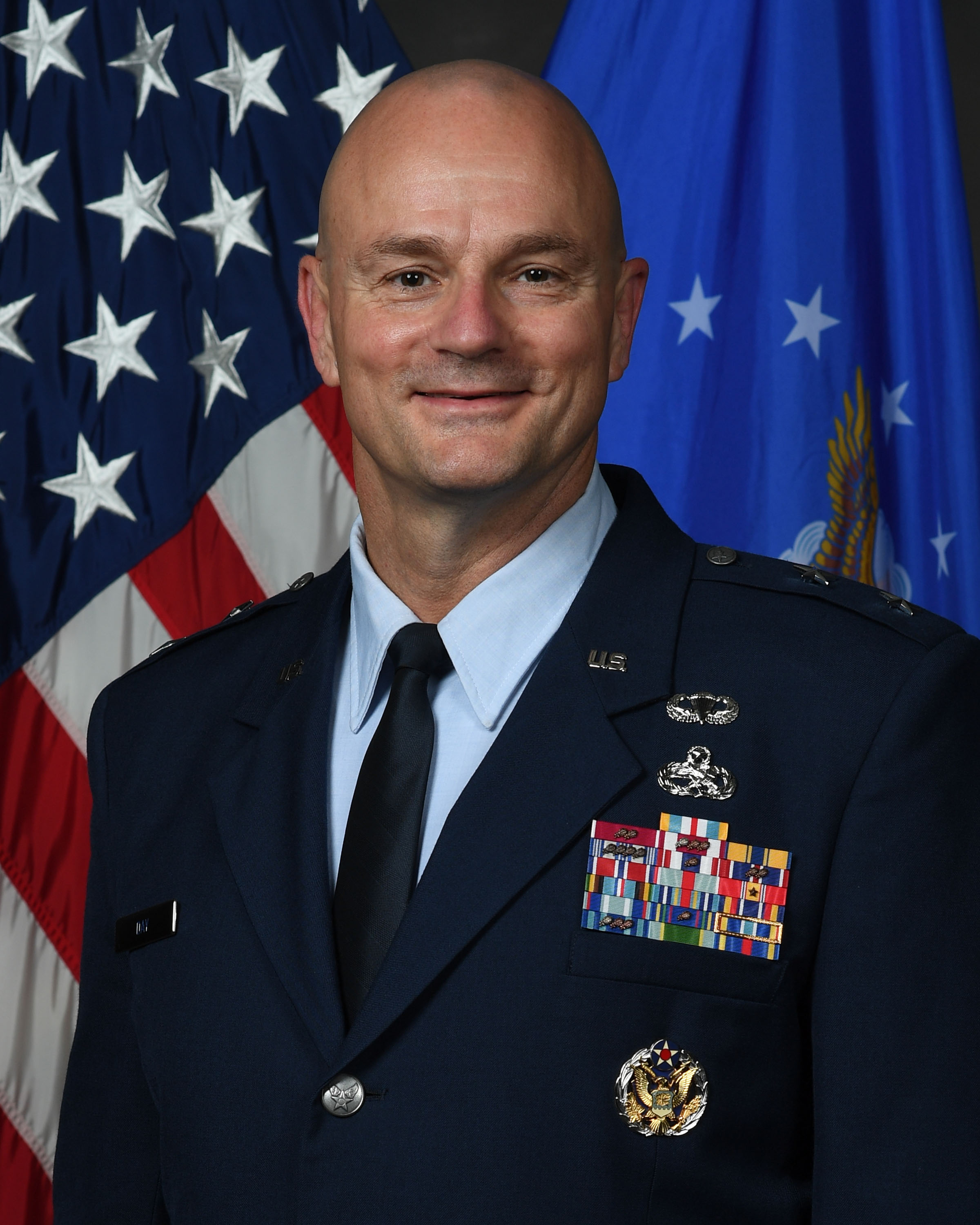 Air Force Major General Allan E. Day