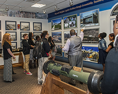 High school students learn about DLA Land and Maritime history