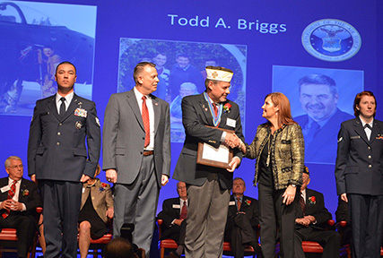 Columbus employee inducted into Ohio Veterans Hall of Fame