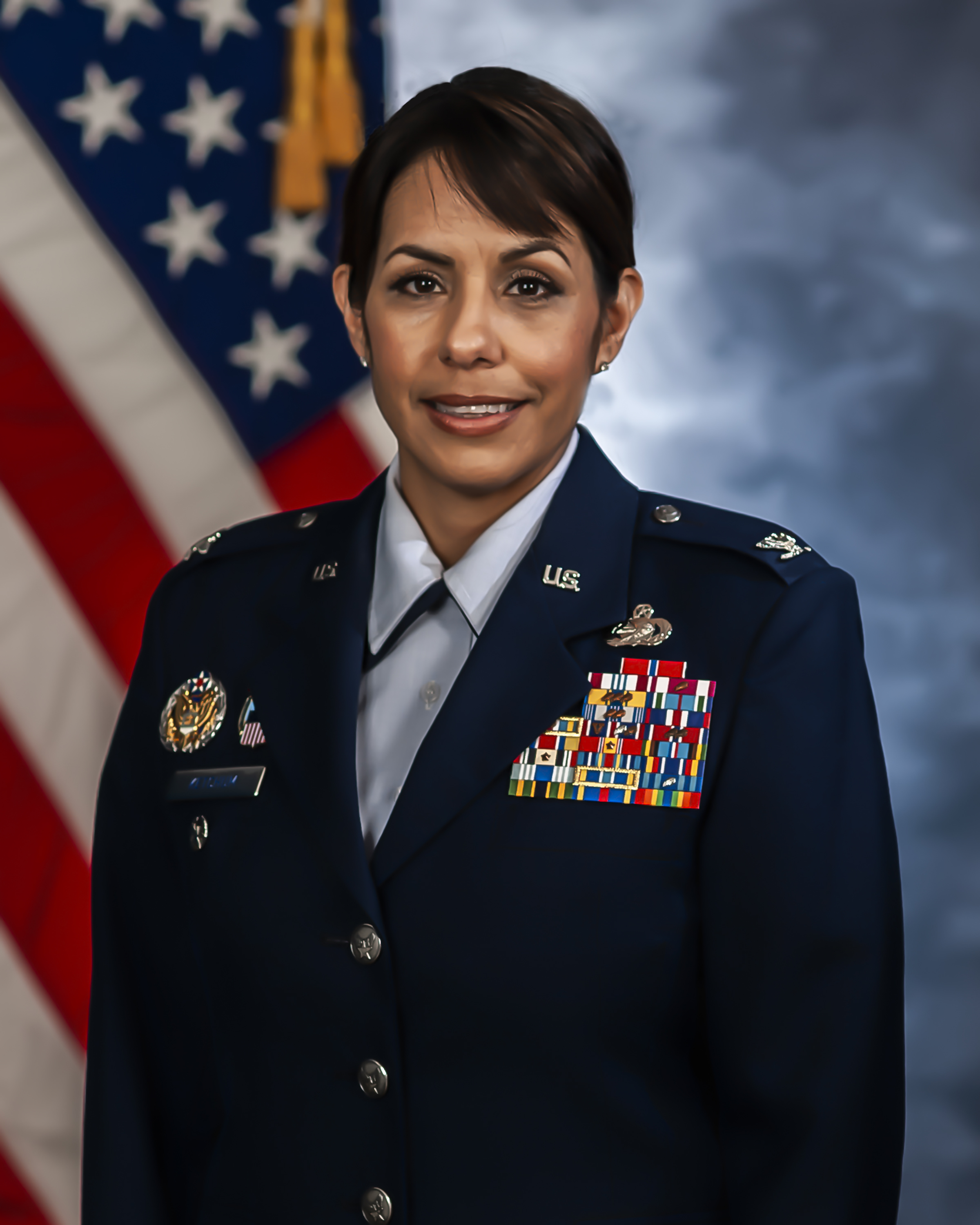 Air Force Col. Janette Ketchum