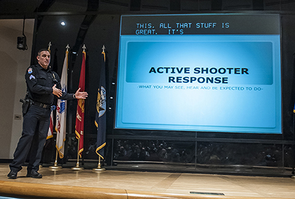 DSCC conducts active shooter response training