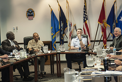 DLA Land and Maritime presents annual plan to agency director