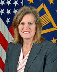 Portrait of DLA Chief of Staff Kristin K. French