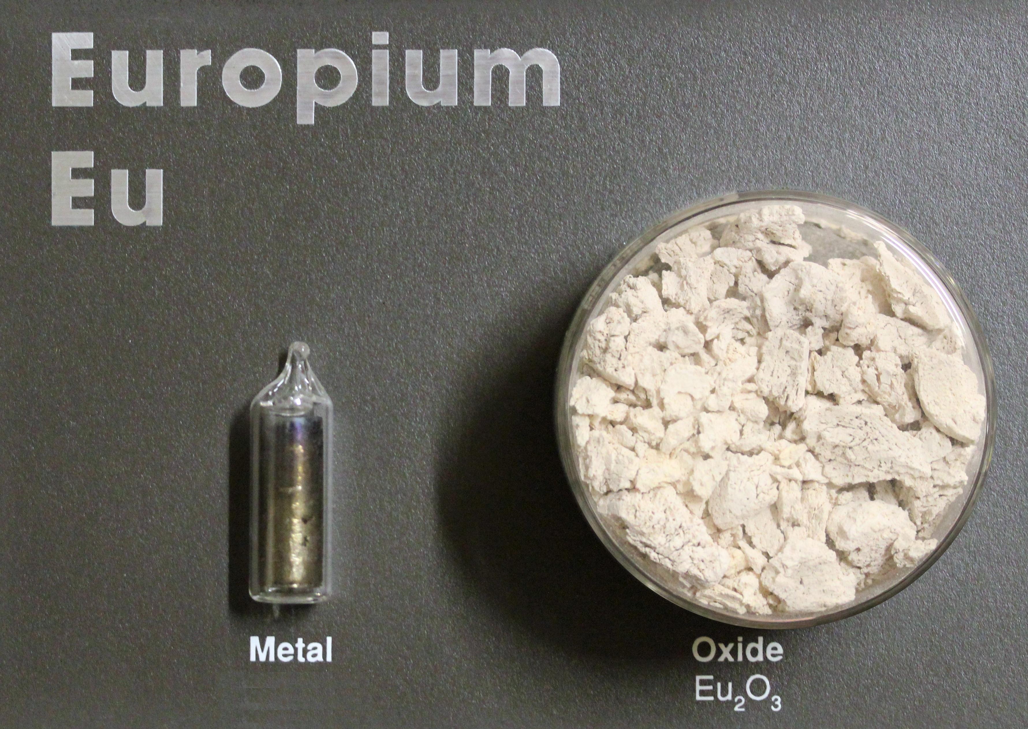 Europium Strategic Mater...
