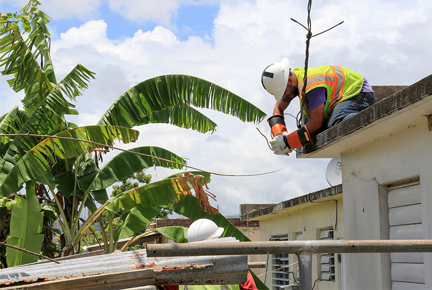 Puerto Rico power grid re-energizes with DLA-provided materials