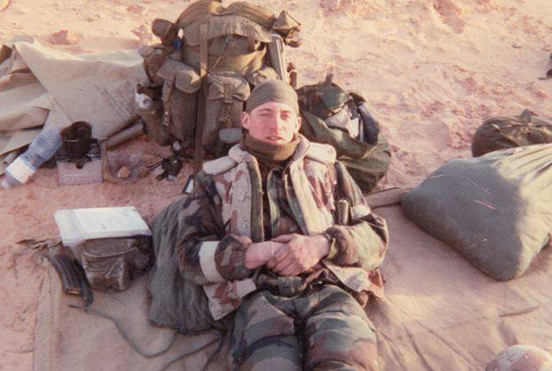 A former cook in the 75th Ranger Regiment, Todd Lutz now helps feed troops on three continents.