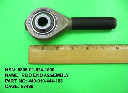 Main Photo - 5306-015241500, P/N 449-010-444-103 : ROD END ASSEMBLY