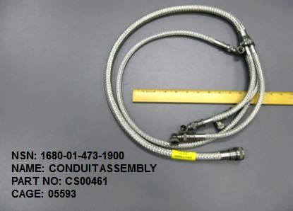 1680-014731900, P/N CS00461: CONDUIT ASSEMBLY