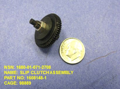 1680-010712708, P/N 1608148-1: SLIP CLUTCH ASSEMBLY