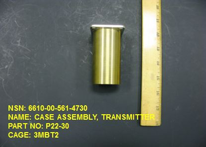 6610-005614730, P/N P22-30: CASE ASSEMBLY, TRANSMITTER