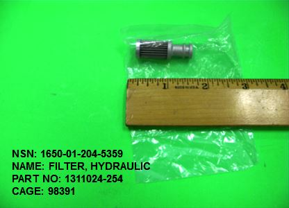 Main Photo - 1650-012045359, P/N 1311024-254 : FILTER, HYDRAULIC