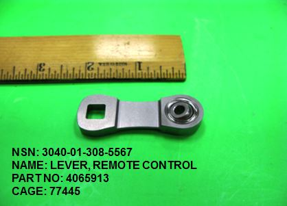Main Photo - 3040-013085567, P/N 4065913 : LEVER, REMOTE CONTROL