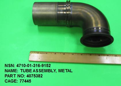 Main Photo - 4710-013169152, P/N 4075382 : TUBE ASSEMBLY, METAL