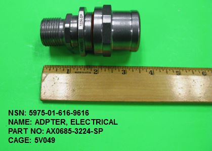 5975-016169616, P/N AX0685-3224-SP : ADPTER, ELECTRICAL