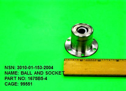 3010-011532004, P/N 1675B5-4 : BALL AND SOCKET