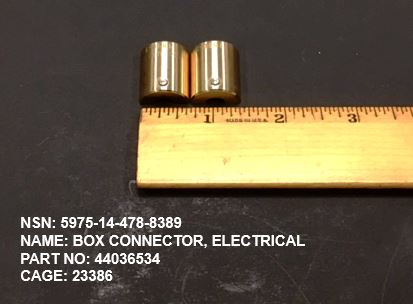 Main Photo - 5975-14-478-8389, P/N  44036534 : BOX CONNECTOR, ELECTRICAL