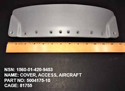 1560-014209453, P/N 5004175-10 : COVER, ACCESS, AIRCRAFT