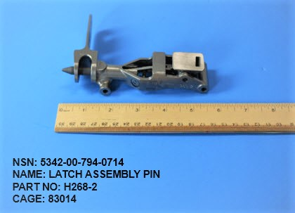 5342-007940714,	P/N H268-2 : LATCH ASSEMBLY PIN