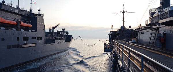 DLA Energy procures fuels used for replenishments at sea