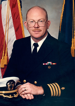Navy Capt. Terry R. Irgens