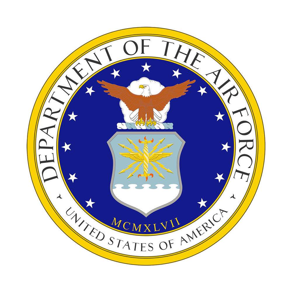 Air Force seal for the DLA Air Force Service Team