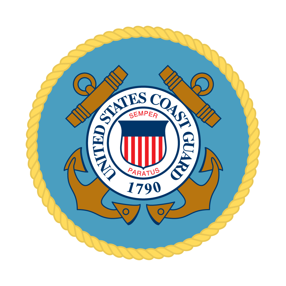 Coast Guard seal for the DLA Coast Guard Sevice Team