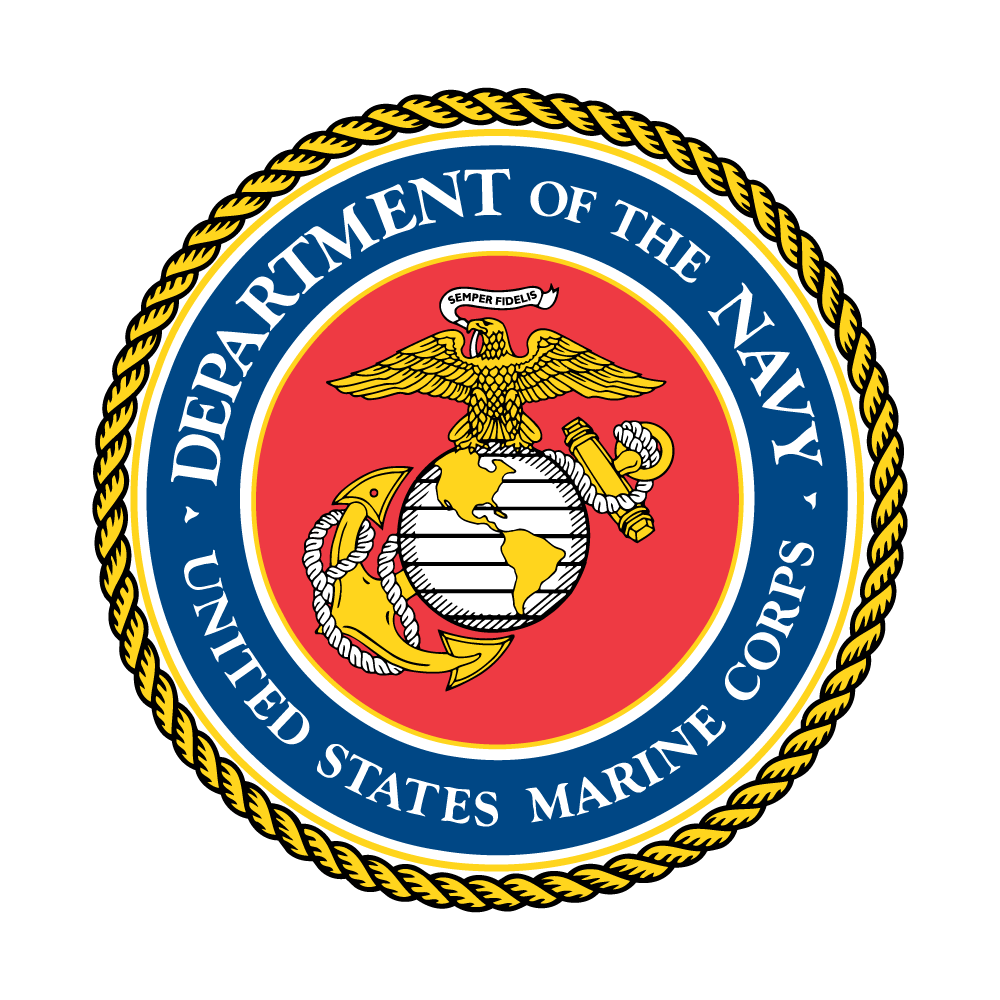 Marine Corps seal for the DLA Marine Corps Service Team