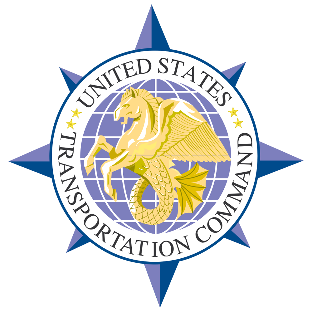 TRANSCOM seal for DLA U.S. TRANSCOM