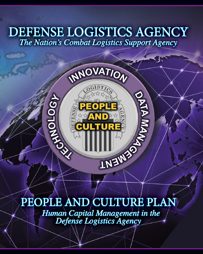 Cover image of the DLA People and Culture Plan