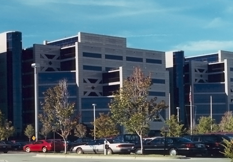 Image of the office building for DLA Installation Support at Columbus