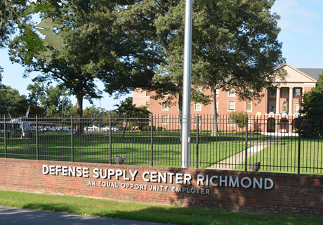 Image of the office building for DLA Installation Support at Richmond